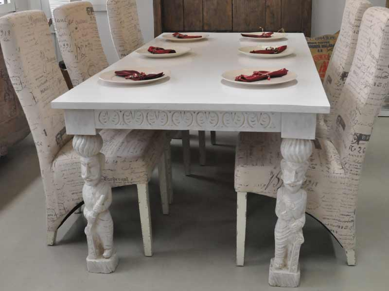 Watchman Table White