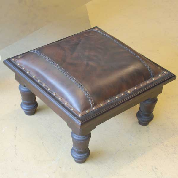 Planter Lazy Chair Leder Footstool