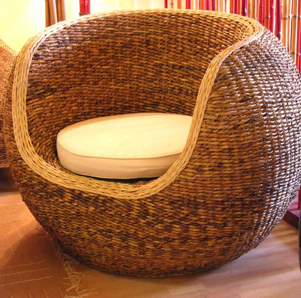 Rondo Big Chair Abaca