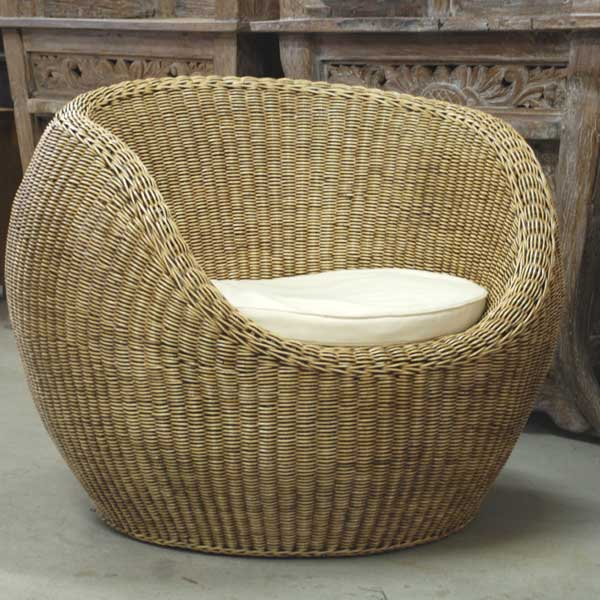 Rondo Big Chair Rattan Fein