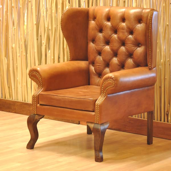 Windsor Wing Chair Vintage